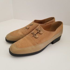 Selby Activeflex 2-tone Brown Leather Shoes